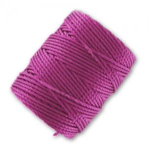 C-Lon Faden Tex 400 Bead Cord 0,90mm Light Magenta x 35m