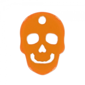 Totenkopf Polaris matt 14 mm Orange x1