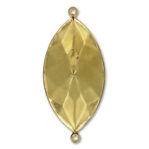 swarovski fassung zum kleben 4227 schiffchen form 32x17mm goldfarb perles co. Black Bedroom Furniture Sets. Home Design Ideas