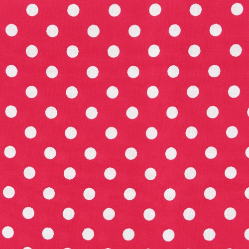 Hotfix Stoff Mit Punkten 21x29 7cm Rot X1 Perles Co