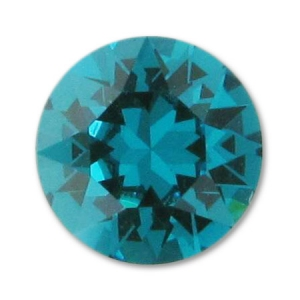 Cabochon Swarovski 1088 8mm Blue Zircon