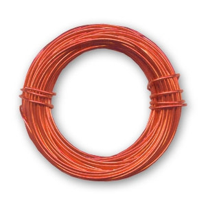 Aluminium-Draht 1mm Red Copper x 12 m