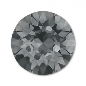 Cabochon Swarovski 1088 8mm Crystal Silver Night