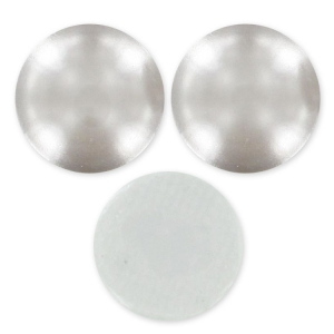 Strass Hotfix Swarovski 2080/4 - 7 mm Light Grey Pearl x6