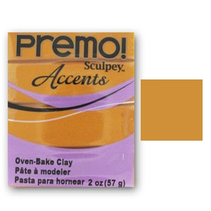 Premo Polyclay Accents 57gr Gold (n°5303)