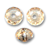 Swarovski 5040 Brioletten 8mm Light Colorado Topaz x1