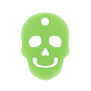 Totenkopf Polaris matt 14 mm Peridot x1