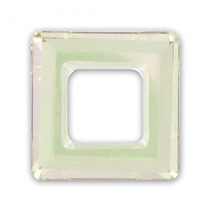 Swarovski Viereck 4439 20mm Crystal Luminous Green