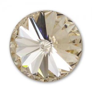 Cabochon Swarovski 1122 Rivoli 14mm Light Silk