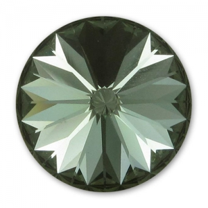 Cabochon Swarovski 1122 Rivoli 8mm Black Diamond