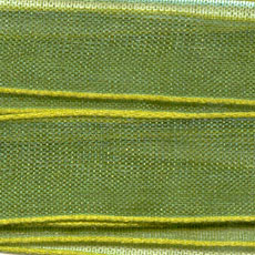 Organza Band 13mm Olive x 3m