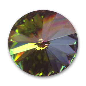 Cabochon Swarovski 1122 Rivoli 14mm Crystal Vitrail Medium