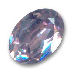 Cabochon Swarovski 4120 Oval 18x13mm Light Amethyst