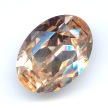 Cabochon Swarovski 4120 Oval 18x13mm Light Peach