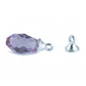 925 sterling silber perlenkappe mit se f r briolette 6010 perles co. Black Bedroom Furniture Sets. Home Design Ideas