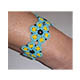 Armband Blume mit Ornella Rocailles