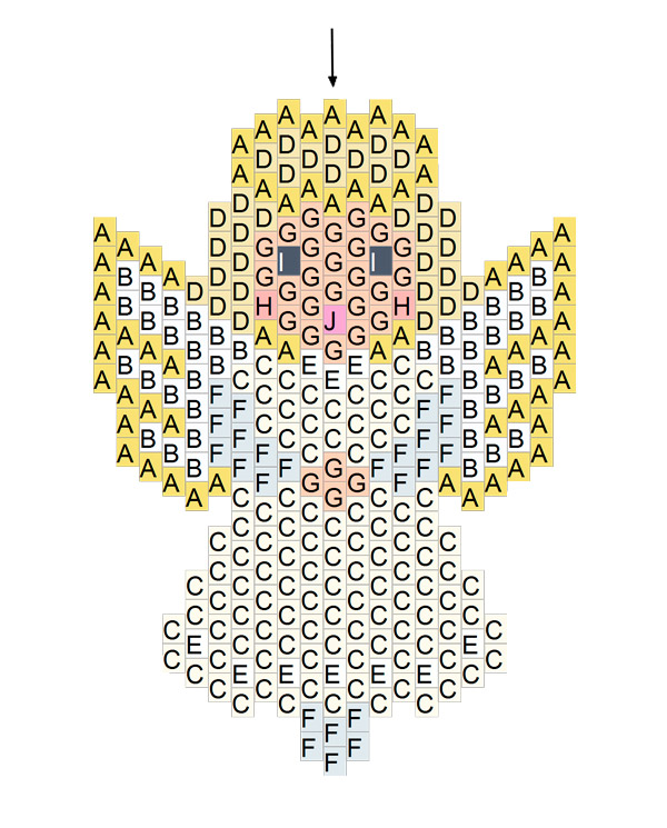 Grund Kleiner Engel Ziegel Masche Weben Mit Perlen Miyukis Delicas
