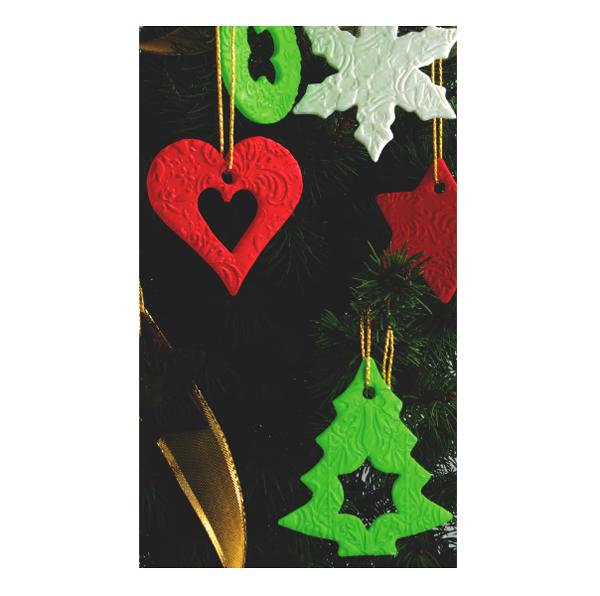 Diy Weihnachtsdekoration Tannenbaum Anhänger Fimo Perles Co