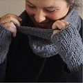 DIY Stricken - Snood Wolle Fonty