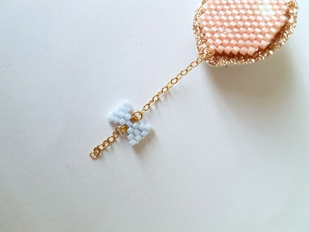 / Tutorial-Weben-brick Stich-ball-node-Drosselklappen liliazalee-09