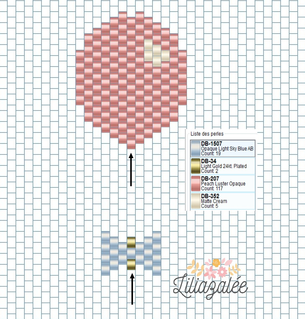 tutorial-Weben-brick Stich-ball-node-Drosselklappen liliazalee Diagramm