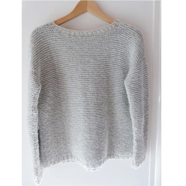 DIY Stricken - kraus Pullover - Perles & Co