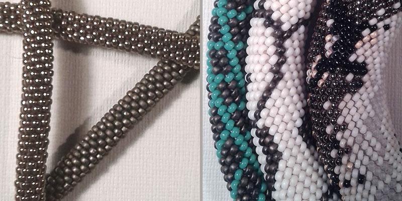 Wie Perlen häkeln Spirale? - Perles & Co