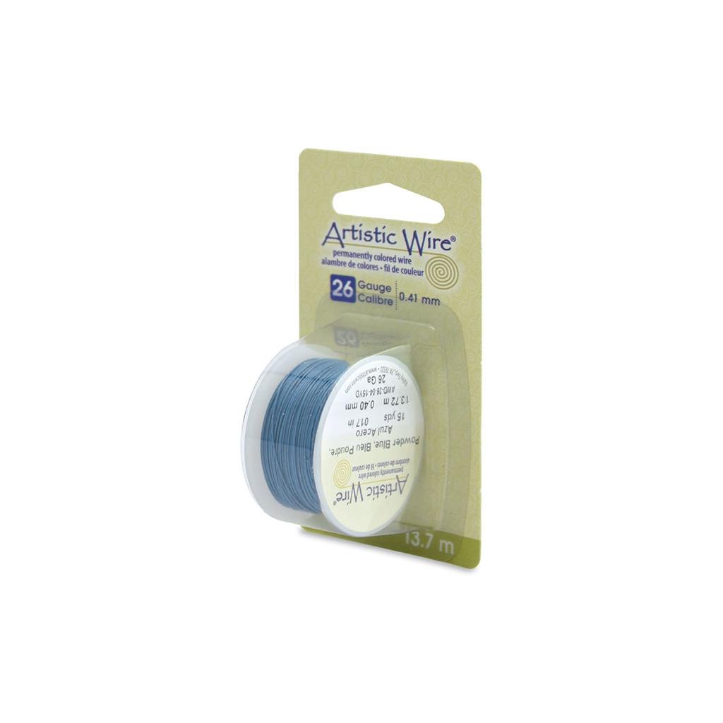 Kupferdraht Artistic Wire 0.41 mm Puder Blau x13.7m - Artistic Wir ...