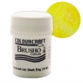 Pigmente in Pulver  Brusho Colours - Sunburst Lemon x15 g