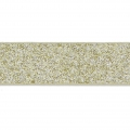 Zierband Lederimitat 10 mm Gold Glitter x1.2m
