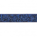 Zierband Lederimitat 5 mm Dark Blue Flitter x1.2m