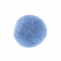 Runder synthetischer Pompon 2 cm Light Blue x1