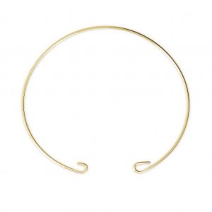 Perlenweben & Schmuckherstellung Quadratische personalisierbare Medaille 10mm goldfarbenx1000