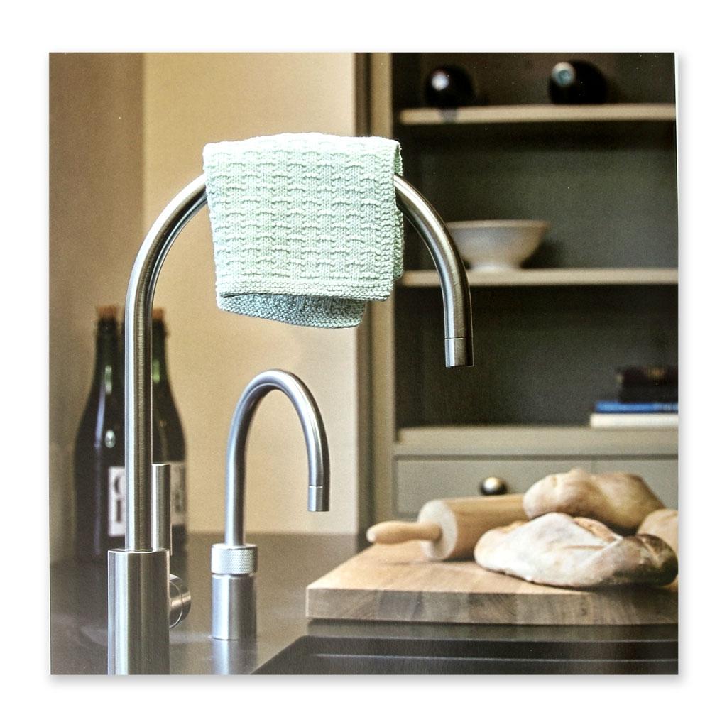 Carrés durables au tricot pour la cuisine et la salle de bain ...