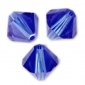 Swarovski Doppelkegel 4mm Majestic Blue x50