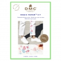 Kit DMC - traditionnelle Stickerei - Magic Paper - Blumen