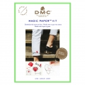 Kit DMC - traditionnelle  Stickerei - Magic Paper - Liebe