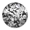 Swarovski Cabochon 1122 Rivoli 12mm Crystal Black Patina x1