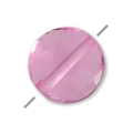 Hydro Tourmaline Rose facettierte Scheibe 6 mm x1