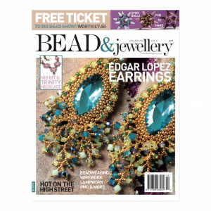 Bead & Jewellery Magazin - April/Mai 2018- in englisch