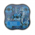StazOn Midi Stempelkissen - quick dry ink pad - Blue Hawaii x1