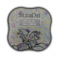 StazOn Midi Stempelkissen - quick dry ink pad - Cloudy Sky x1