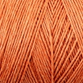 Spule gewachtstem Leinengarn 0.7 mm Orange N°8 x 100 gr