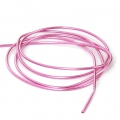 Glatte French Wire - Cannetille  1 mm Pink x5g