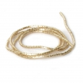 Lockige French Wire - Lockige Cannetille 1 mm Light Gold x5g