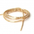 Lockige French Wire - Lockige Cannetille 1 mm Dark Gold x5g