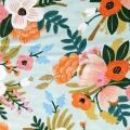 Viskose Gewebe  Rifle Paper Co  für Cotton + Steel - Amalfi Lively Floral x10cm