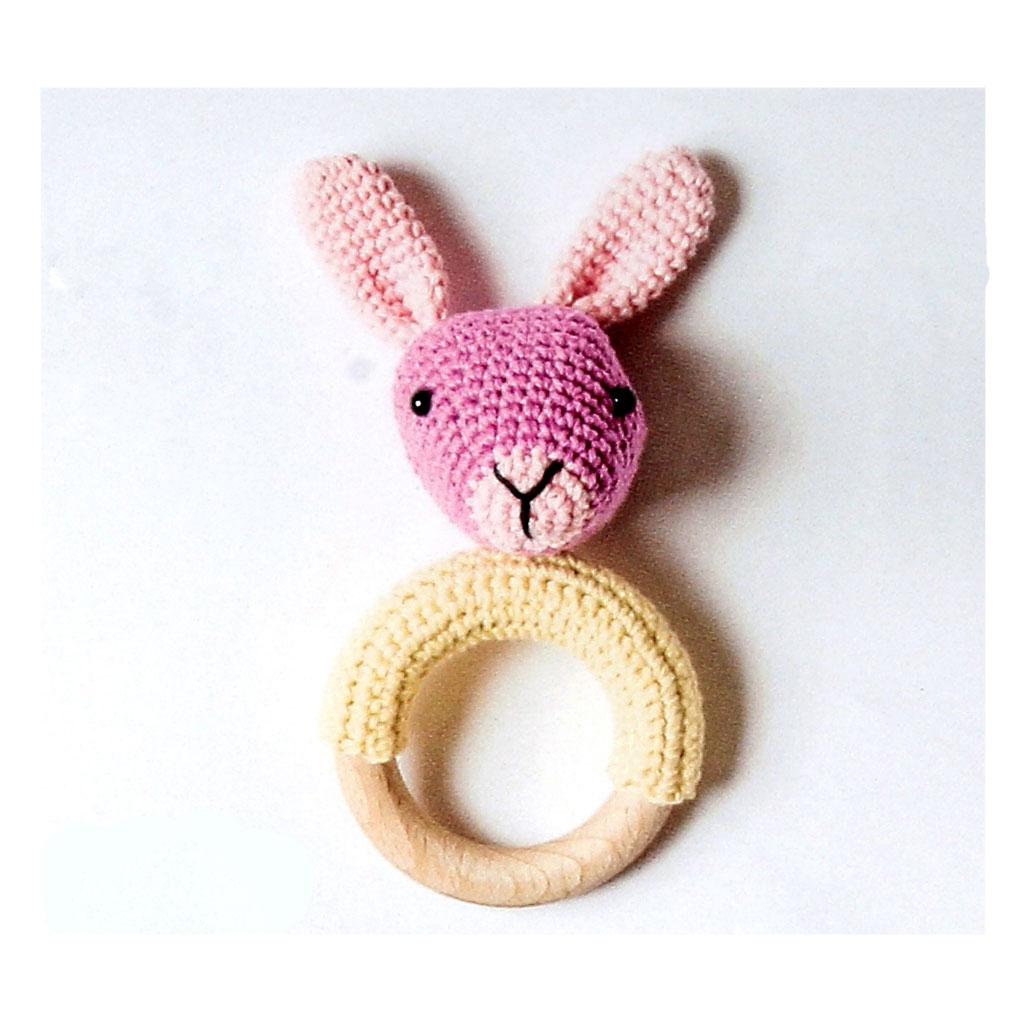 Pretty Bunny amigurumi in pink dress | Tier häkeln anleitung ... | 1024x1024
