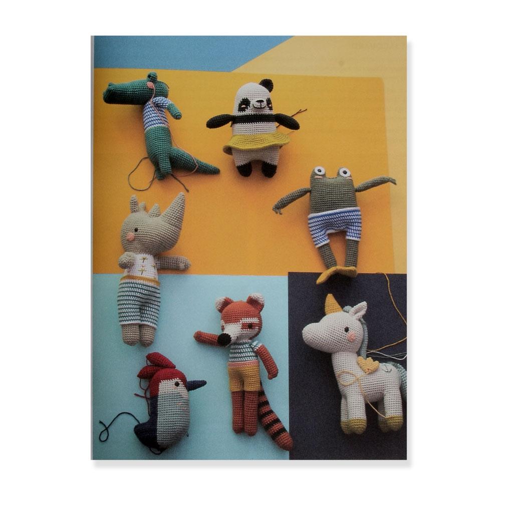 Les Amis De Pica Pau 20 Amigurumis à Crocheter Yan Shenkel