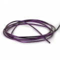 Glatte French Wire - Cannetille  1 mm Violett x5g